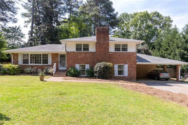 1643 E Lake Drive, Marietta, GA 30062 (MLS #6872551) :: The Gurley Team