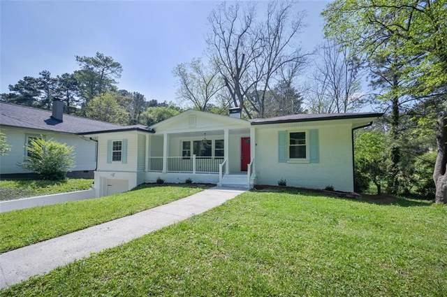138 W Lake Avenue NW, Atlanta, GA 30314 (MLS #6872988) :: Atlanta Communities Real Estate Brokerage