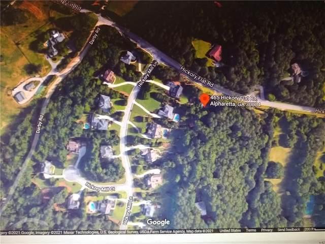 465 Hickory Flat Road, Milton, GA 30004 (MLS #6874138) :: Path & Post Real Estate