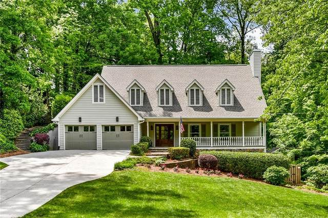1270 Old Woodbine Road, Sandy Springs, GA 30319 (MLS #6875903) :: North Atlanta Home Team