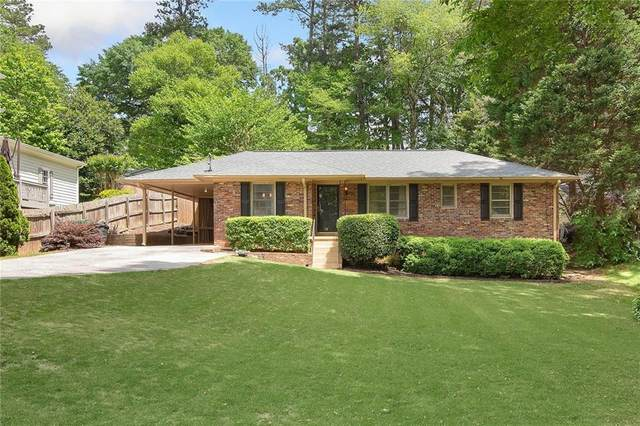 2201 Fairway Circle NE, Brookhaven, GA 30319 (MLS #6876009) :: North Atlanta Home Team