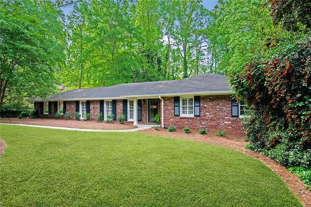 100 Finchley Court, Sandy Springs, GA 30328 (MLS #6876968) :: The Gurley Team