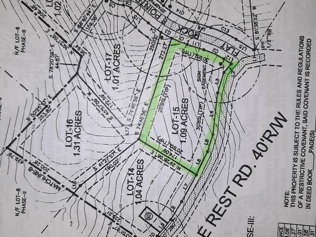 0 Lot 15 Eagle Rest Road, Dahlonega, GA 30533 (MLS #6877022) :: North Atlanta Home Team
