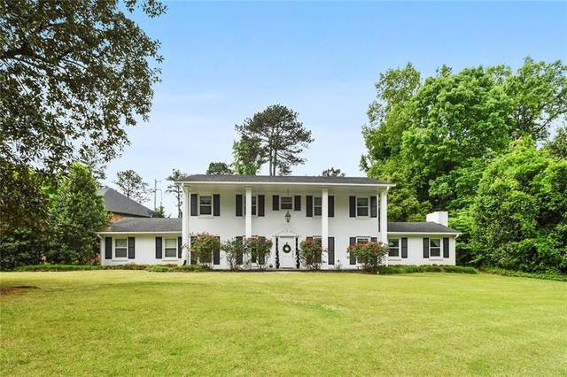 1575 Old Spring House Lane, Dunwoody, GA 30338 (MLS #6877790) :: Scott Fine Homes at Keller Williams First Atlanta