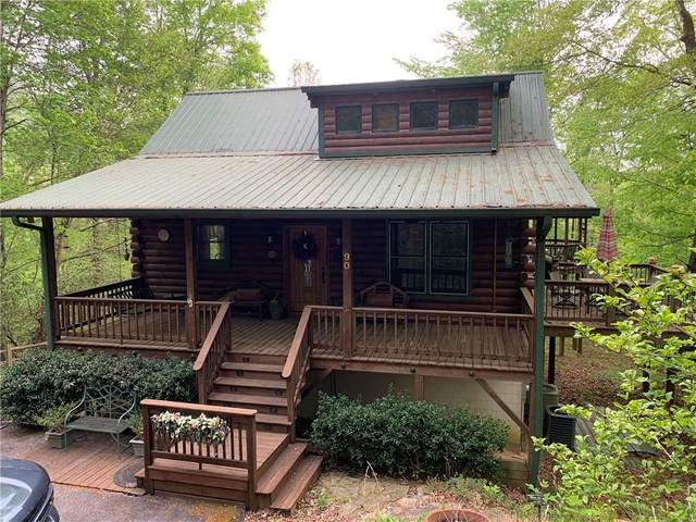90 Blackberry Drive, Rabun Gap, GA 30568 (MLS #6878712) :: North Atlanta Home Team
