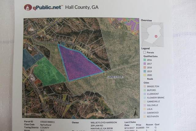 2259 E Dennis Drive Drive, Gainesville, GA 30507 (MLS #6879079) :: 515 Life Real Estate Company