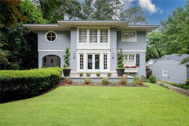 387 N Garden Lane NW, Atlanta, GA 30309 (MLS #6879353) :: North Atlanta Home Team