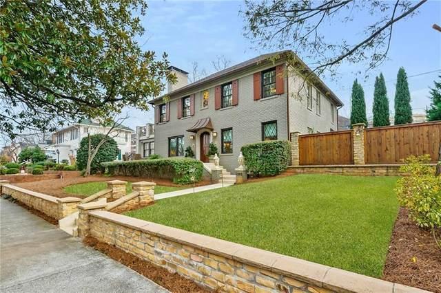 1085 St Augustine Place NE, Atlanta, GA 30306 (MLS #6879431) :: North Atlanta Home Team