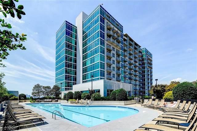 250 Pharr Road NE #415, Atlanta, GA 30305 (MLS #6879473) :: Tonda Booker Real Estate Sales