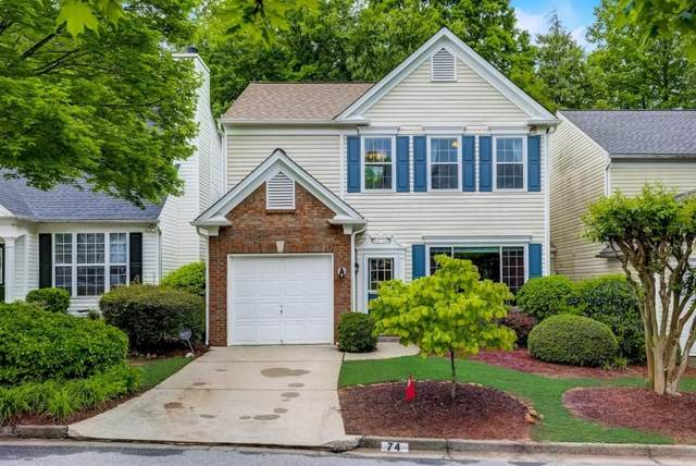 74 Cheshire Drive, Alpharetta, GA 30022 (MLS #6879660) :: North Atlanta Home Team