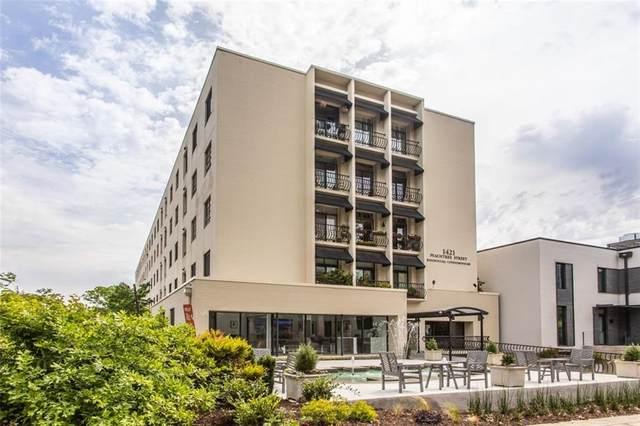 1421 Peachtree Street NE #3145, Atlanta, GA 30309 (MLS #6879862) :: Kennesaw Life Real Estate
