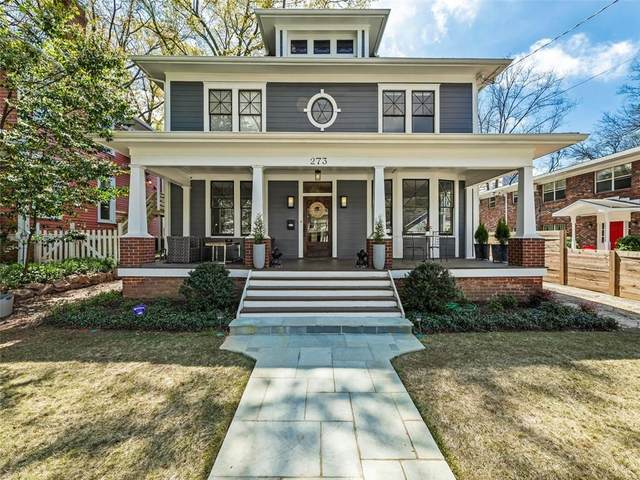 273 9th Street NE, Atlanta, GA 30309 (MLS #6880462) :: The Justin Landis Group