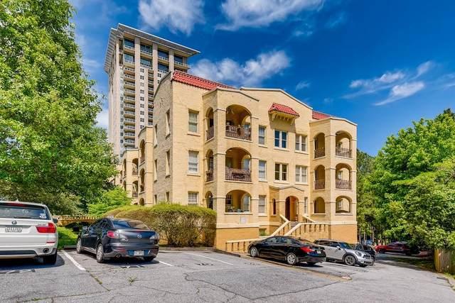 2855 Peach Tree Road #320, Atlanta, GA 30305 (MLS #6881153) :: The Justin Landis Group