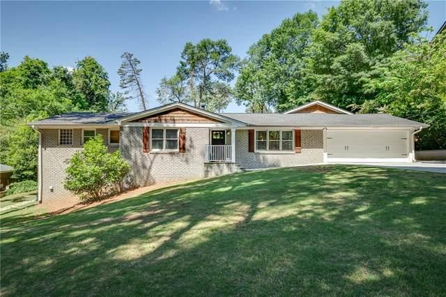 6110 Harleston Road NE, Atlanta, GA 30328 (MLS #6881270) :: Path & Post Real Estate