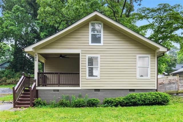 546 Woodrow Avenue, Hapeville, GA 30354 (MLS #6883029) :: The Kroupa Team | Berkshire Hathaway HomeServices Georgia Properties