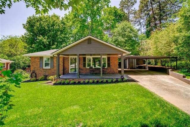 606 Green Acres Road SE, Smyrna, GA 30080 (MLS #6883186) :: Charlie Ballard Real Estate