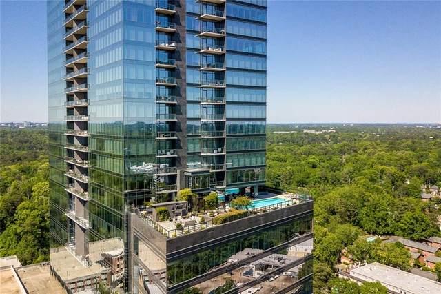 3630 Peachtree Road NE #2604, Atlanta, GA 30326 (MLS #6883220) :: The Kroupa Team | Berkshire Hathaway HomeServices Georgia Properties