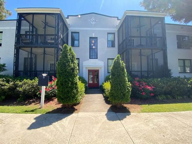 120 Peachtree Memorial Drive 124-2, Atlanta, GA 30309 (MLS #6883363) :: Charlie Ballard Real Estate