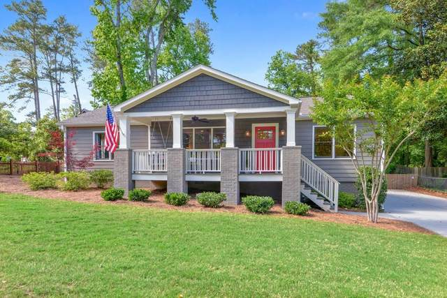 1453 Collier Drive SE, Smyrna, GA 30080 (MLS #6883573) :: Charlie Ballard Real Estate