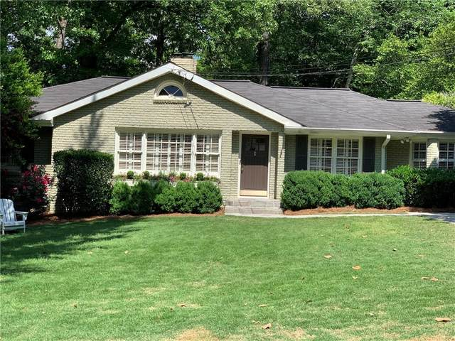 1039 Northcliffe Drive NW, Atlanta, GA 30318 (MLS #6883650) :: Tonda Booker Real Estate Sales
