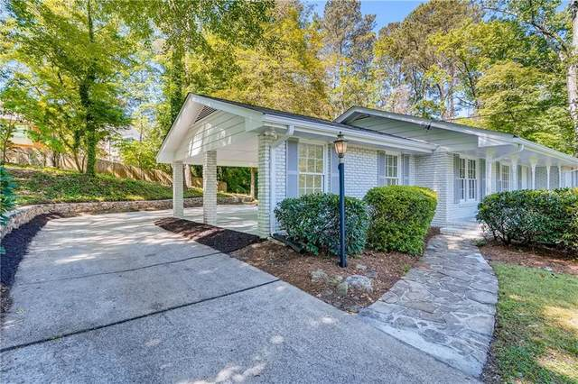 3107 Kingscliff Way NE, Atlanta, GA 30345 (MLS #6883773) :: Todd Lemoine Team