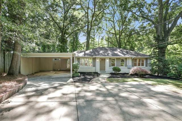 1957 Wellbourne Drive NE, Atlanta, GA 30324 (MLS #6883803) :: Charlie Ballard Real Estate