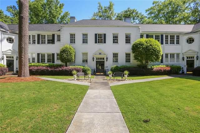21 Peachtree Memorial Drive NW #7, Atlanta, GA 30309 (MLS #6883965) :: Todd Lemoine Team