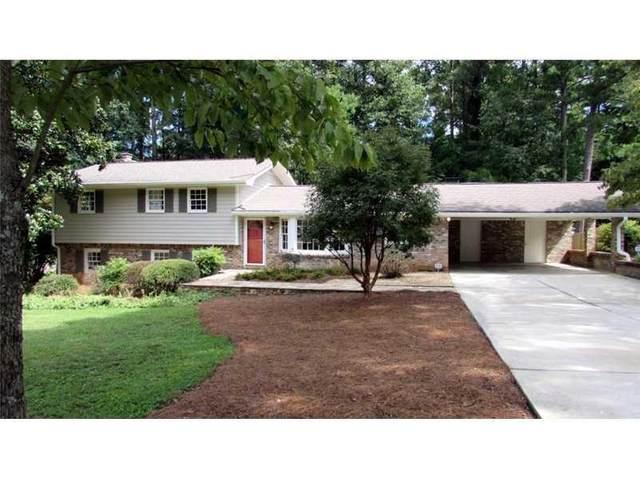 1584 Chateau Drive, Dunwoody, GA 30338 (MLS #6884105) :: North Atlanta Home Team