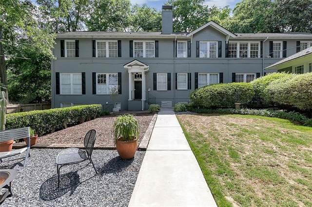 1350 N Morningside Drive #11, Atlanta, GA 30306 (MLS #6884394) :: North Atlanta Home Team
