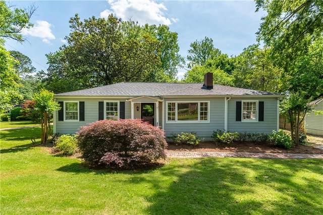 2097 Fairhaven Circle NE, Atlanta, GA 30305 (MLS #6884414) :: Kennesaw Life Real Estate