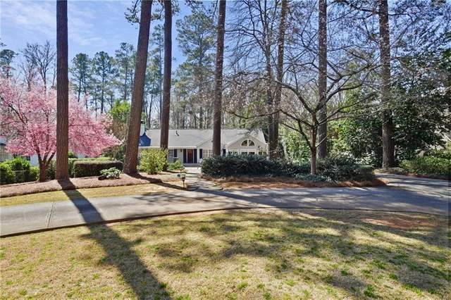 4114 Club Drive NE, Atlanta, GA 30319 (MLS #6884523) :: Kennesaw Life Real Estate