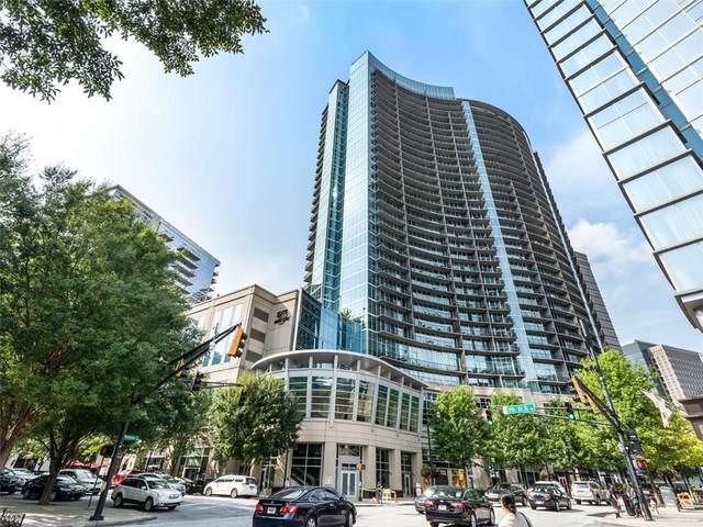 1080 Peachtree Street NE #1208, Atlanta, GA 30309 (MLS #6884542) :: Path & Post Real Estate