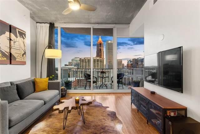 860 Peachtree Street NE #1414, Atlanta, GA 30308 (MLS #6886128) :: Path & Post Real Estate