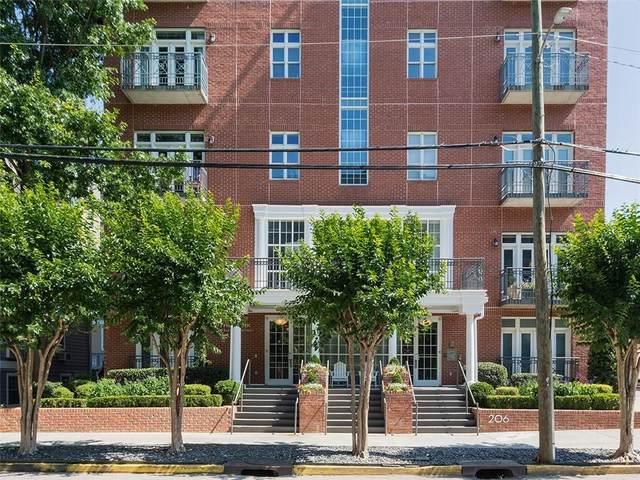206 11th Street NE #202, Atlanta, GA 30309 (MLS #6886253) :: RE/MAX Prestige