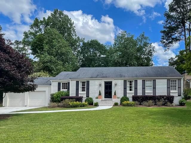 460 Old Creek Road, Sandy Springs, GA 30342 (MLS #6888936) :: Dillard and Company Realty Group