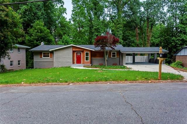 415 Creekview Drive, Stone Mountain, GA 30083 (MLS #6889303) :: North Atlanta Home Team