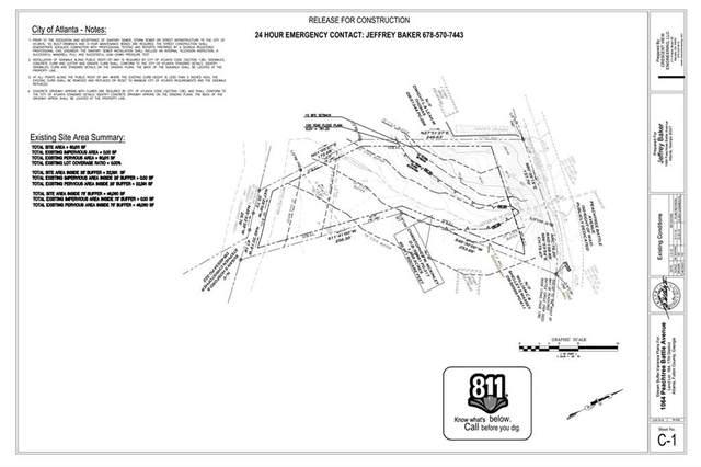 1064 Peachtree Battle Avenue NW, Atlanta, GA 30327 (MLS #6890736) :: The Gurley Team