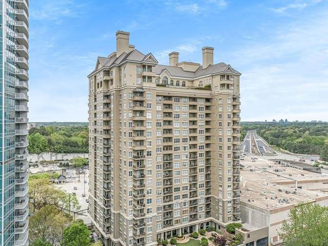3334 Peachtree Road NE #509, Atlanta, GA 30326 (MLS #6892095) :: RE/MAX Prestige