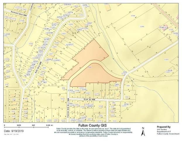 0 Center Hill Avenue, Atlanta, GA 30318 (MLS #6893347) :: Kennesaw Life Real Estate
