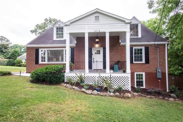 1678 N Druid Hills Road NE, Brookhaven, GA 30319 (MLS #6893490) :: North Atlanta Home Team