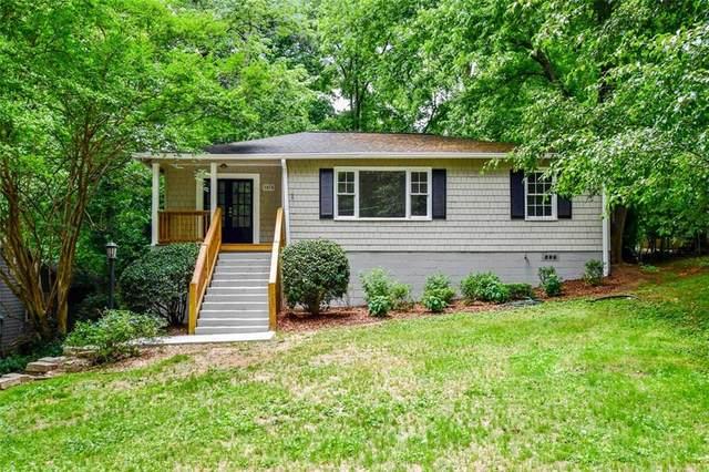 1678 Bridgeport Drive NE, Atlanta, GA 30329 (MLS #6893742) :: Good Living Real Estate