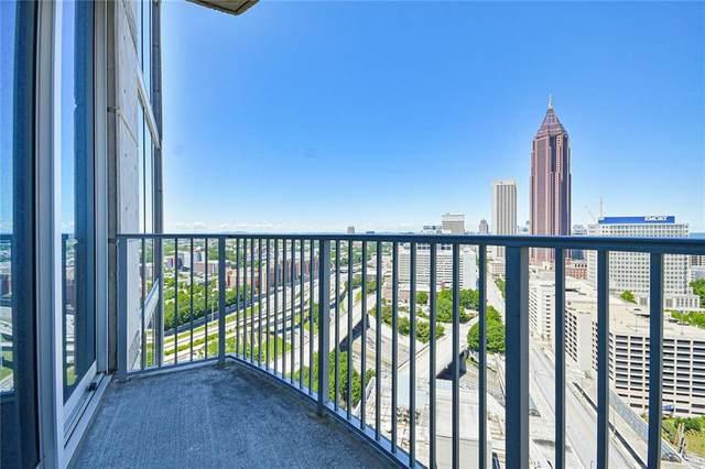 400 W Peachtree Street NW #2516, Atlanta, GA 30308 (MLS #6894755) :: The Hinsons - Mike Hinson & Harriet Hinson