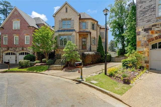 1719 Buckhead Valley Lane NE, Atlanta, GA 30324 (MLS #6894889) :: North Atlanta Home Team