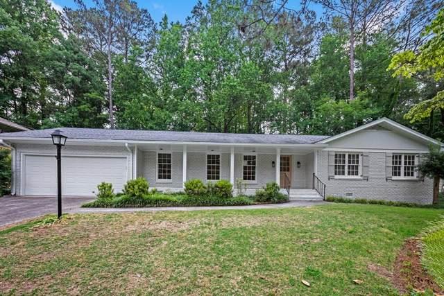 4831 Cambridge Drive, Dunwoody, GA 30338 (MLS #6895600) :: North Atlanta Home Team