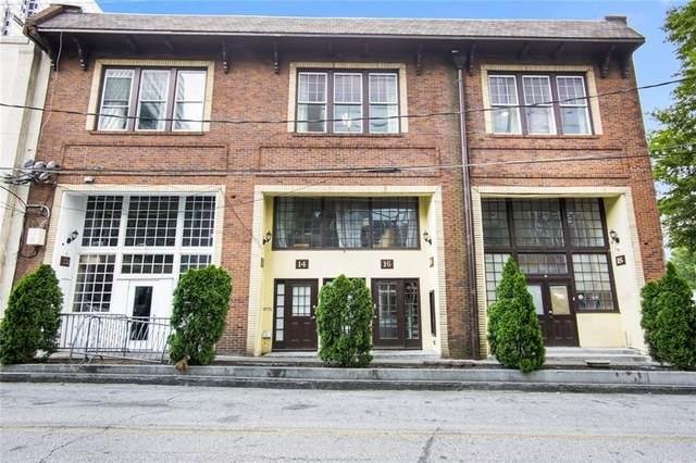 16 W Peachtree Place NW B, Atlanta, GA 30308 (MLS #6895789) :: Good Living Real Estate
