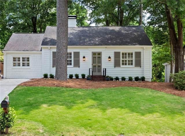 2393 Hurst Drive NE, Atlanta, GA 30305 (MLS #6895827) :: Kennesaw Life Real Estate