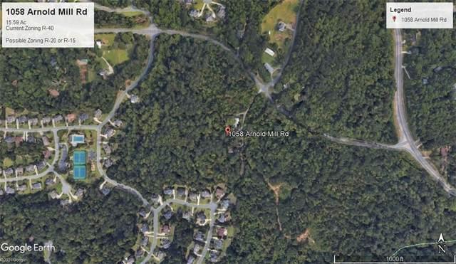 1058 Arnold Mill Road, Woodstock, GA 30188 (MLS #6895883) :: Path & Post Real Estate