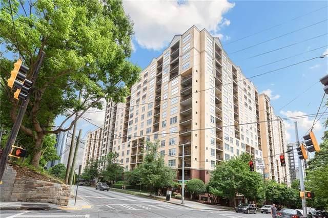 1101 Juniper Street NE #910, Atlanta, GA 30309 (MLS #6896043) :: The Hinsons - Mike Hinson & Harriet Hinson