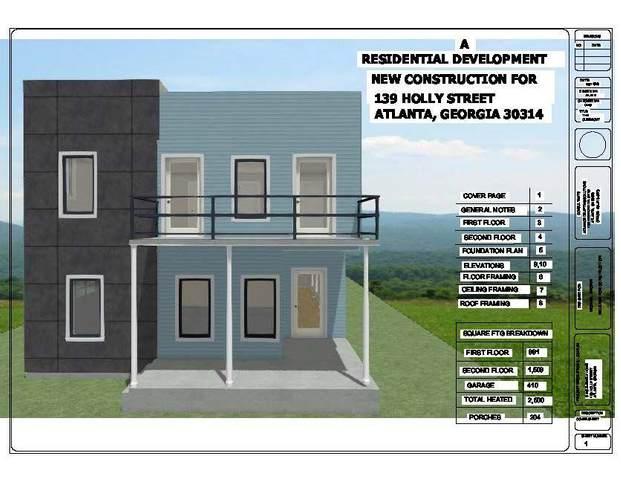 139 Holly Road NW, Atlanta, GA 30314 (MLS #6896436) :: Dillard and Company Realty Group