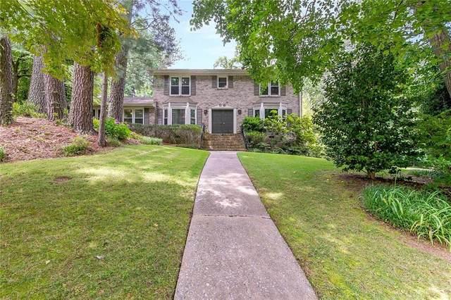 1561 Chateau Drive, Dunwoody, GA 30338 (MLS #6896735) :: RE/MAX Paramount Properties